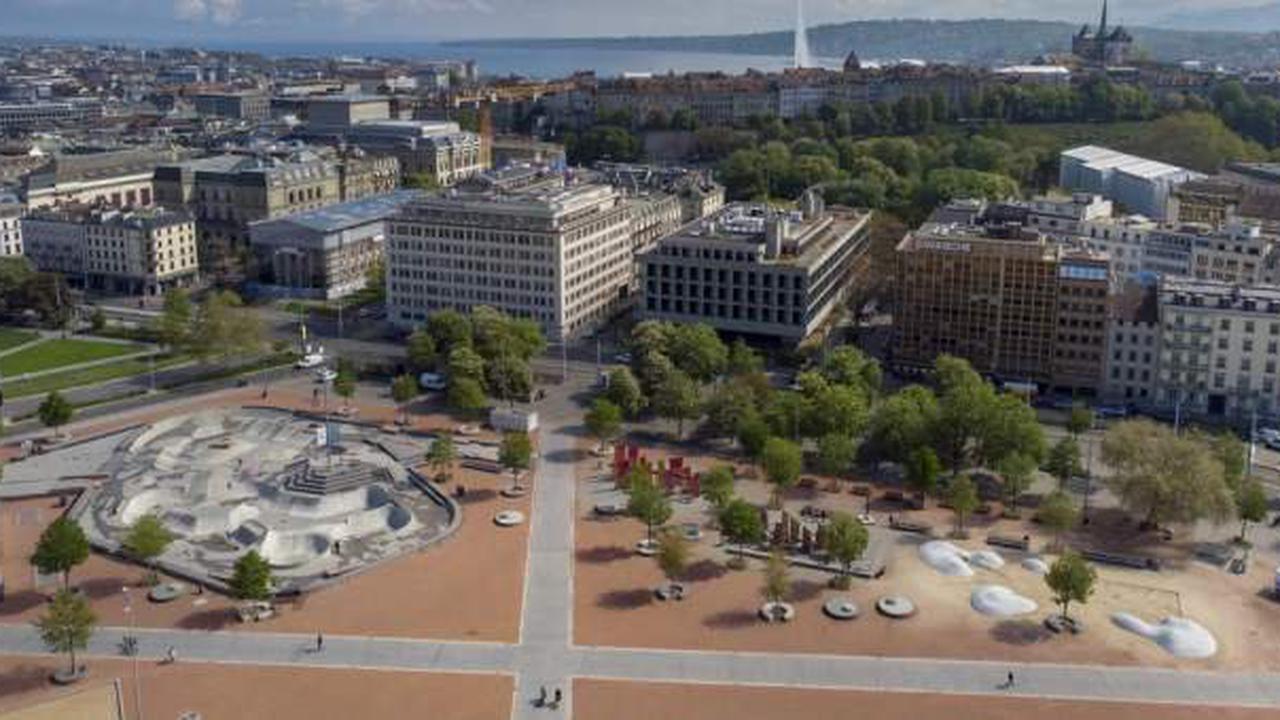 Plainpalais in Genf wird zu Klagemauer während Gipfeltreffen