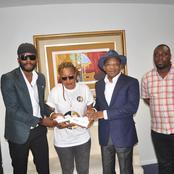 A moins d'un mois de son concert: Kerozen DJ chez le ministre Siandou Fofana