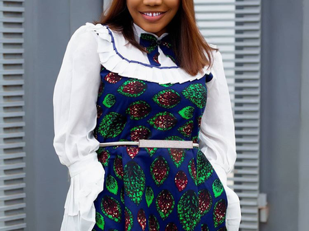 Mercy Chinwo Stunned In These Lovely Ankara Outfits