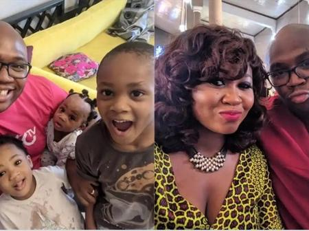 Check Out Cute Pictures of Mary Njoku And Her Family