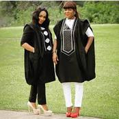 Are you one of who thinks agbada is only meant for men? See how women rock it.