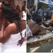 Cheating Wife: Married Woman Get Stuck While Having S3x With Her Lover In Ogun State