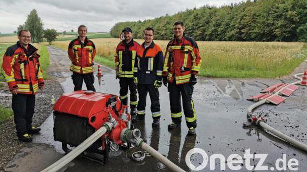 So läuft die Ausbildung von Maschinisten der Feuerwehr