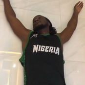 Video: Minutes after the president's speech, look at what Peter of Psquare did