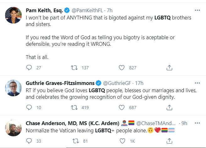 LGBTQ community react to Vatican new