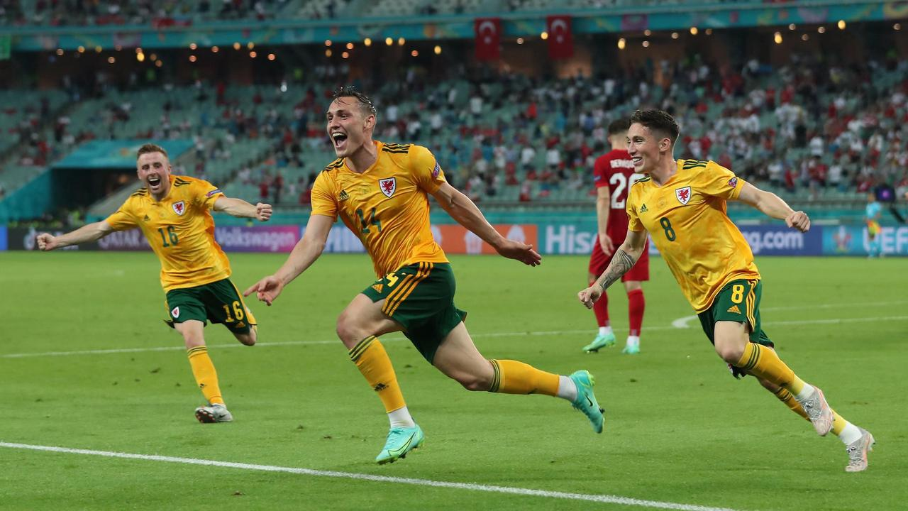 Fußball-EM: Wales gewinnt gegen die die Türkei