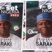 2023: Saraki's campaign posters surface in Abuja