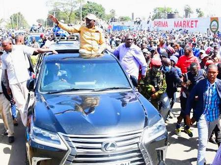 Excitement as DP Ruto Clears Hospital Bills For Two Traders of Burma Market [Video]