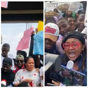 Be The Judge: Between Toyin Abraham And Mercy Aiyegbe, Who Had Inspired The Crowd During Protest
