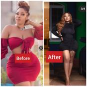 See Recent Transformation Pictures of Ghanaian Actress, Moesha Babinotti Buduong