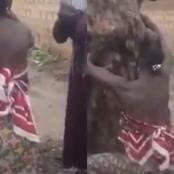 """Barbaric And Irrational"" As An Elderly Woman Was Tied And Unjustly Flogged Publicly (Video)"