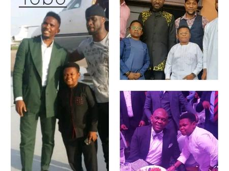 'Aki and Pawpaw', See Photos Of Chinedu And Osita With Apostle Suleiman And Other Celebrities