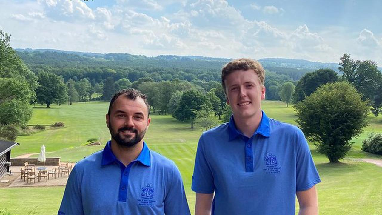 Chesterfield Golf Club duo set to tee off for England at Royal St George's