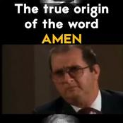 Watch the full movie of the word (Amen)