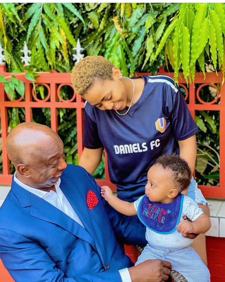 Today is Munir Nwoko's birthday, Check out lovely pictures of him spending time with his parents 15