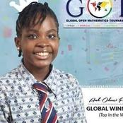 15 year old Nigerian genius beats students in Israel US England China in a Maths competition