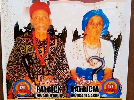 Checkout This Couple's Age. They Who Died The Same Day