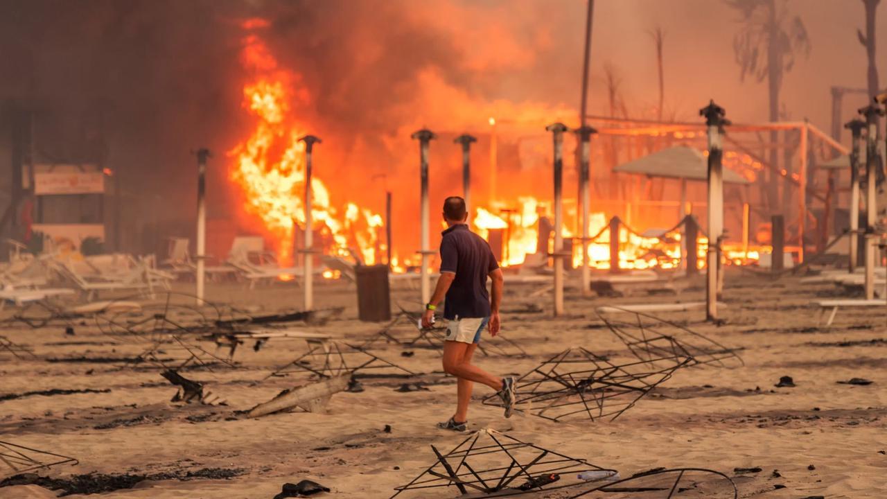 Hitze und Brände in südlichen Urlaubsländern wüten weiter