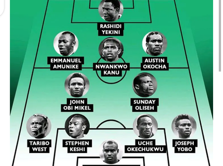 Nigeria All Time Super Eagle Stars For Each Position