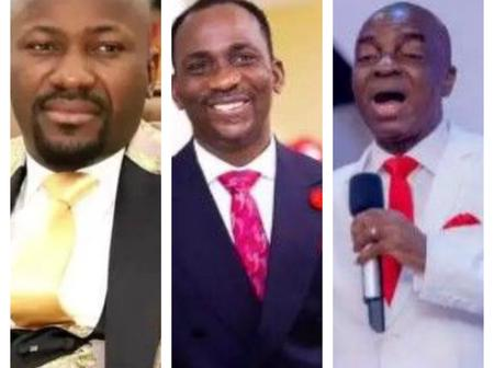 Reactions As Apostle Suleman, Oyedepo And Paul Enenche Made A Prophesy On What Will Happen This Week