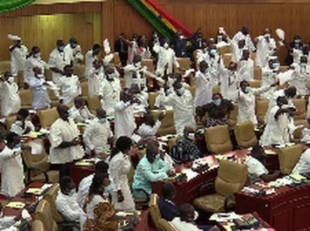 NPP not majority, they are part of the majority caucus