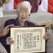 Meet Kane Tanaka, The Oldest Person In the World. Check Out Pictures And Her Secret Healthy Tips