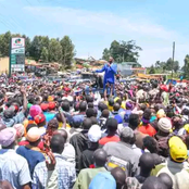 Uhuru Should Be Worried After Ruto Storms Mount Kenya