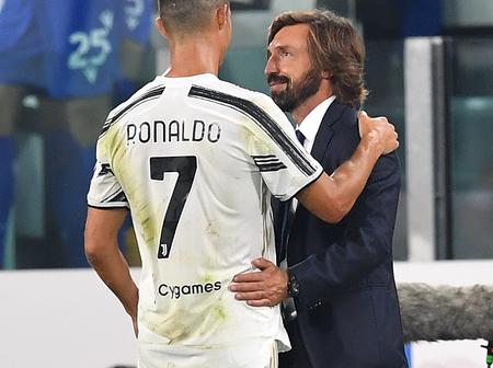 Juventus coach Andrea Pirlo reveals what makes Ronaldo different from other players