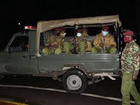 5 KDF soldiers arrested for Defying Covid Rules