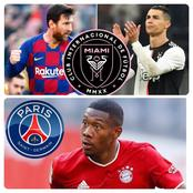 Tuesday Transfer News & Football Updates: Done Deals, Messi, Cristiano Ronaldo, Alaba & More