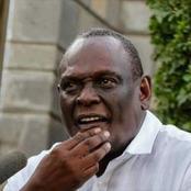 DP Ruto Allied MP Rigathi Gachagua Badly Destroys Murathe During Hustler Nation's Murang'a Visit