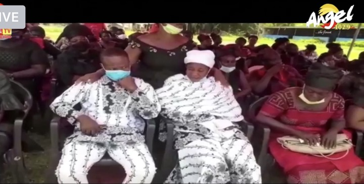 e4e7980a3e499c18a1f3529969c16c61?quality=uhq&resize=720 - Mass Burial: Tears Flow As 4 Children Who Perished In A Fire At Amasaman Goes To Their Maker Today
