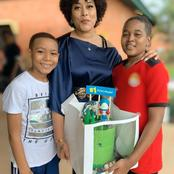 Months After She Converted Back To Muslim, See How The Nollywood Actress And Her Children Looks Like