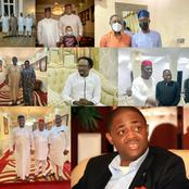 Why all these meetings? See all the people that Femi Fani-Kayode has had meetings with this year