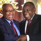 Ramaphosa's response to Zuma's behavior leaves Mzansi speechless