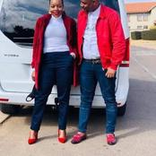 Take a look at Nomcebo Zikode's husband and mother-in-law.