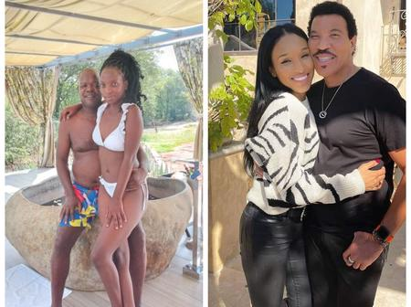 Check some celebrities who are dating young girls whom are twice younger at their age