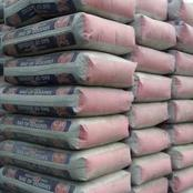 Price Of Cement Is No Longer N3,800 Check Out The New Price Here.