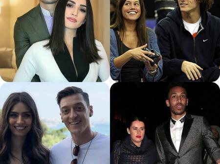 Photos Of Arsenal Players And Their Wives: Which One Is The Finest?