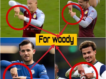 See Why After scoring, Barkley, Grealish, Chilwell made this same gesture with their hands (Photos)