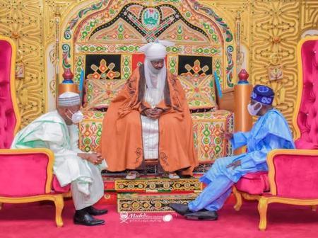 Check Out Fashionable Attire of Emir of Kano Alhaji Ado Bayero