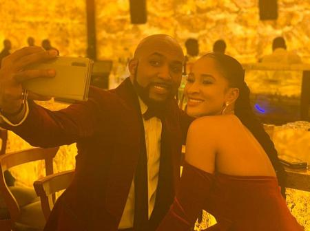 Singer, Banky W takes to Instagram to remind Nigerian's that his wife beauty is timeless