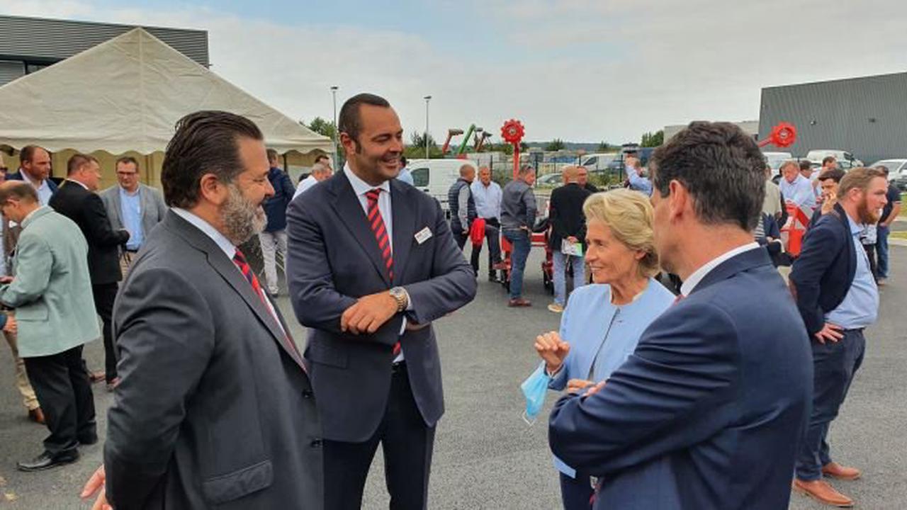 Info firme Maschio Gaspardo inaugure des bâtiments flambant neuf à Beauvais