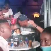 Khune dancing with ama2000 at a pub, mzansi reacts