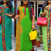 Fashionistas, Upgrade Your Wardrobe With These Trendy Ankara Gown Styles