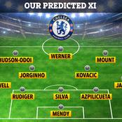 Prediction : Chelsea Lineup To Face Liverpool
