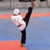 How An 8-Month Pregnant Woman Won A Gold Medal In Taekwondo At NSF
