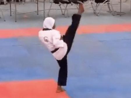 How An 8-Month Pregnant Woman Won A Gold Medal In Taekwondo At NSF