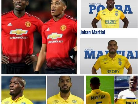 Check Out The French Club Where Paul Pogba And Anthony Martial's Brothers Are Teammates This Season