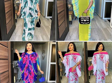 Check Out These Latest Attractive Boubou Styles For Elegant Ladies
